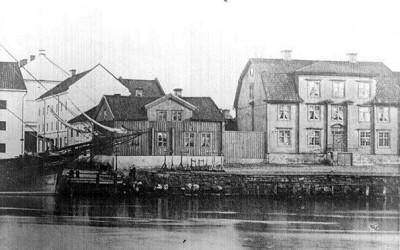 1800-talskvarter som hyste köpmansfamiljen Ringborg