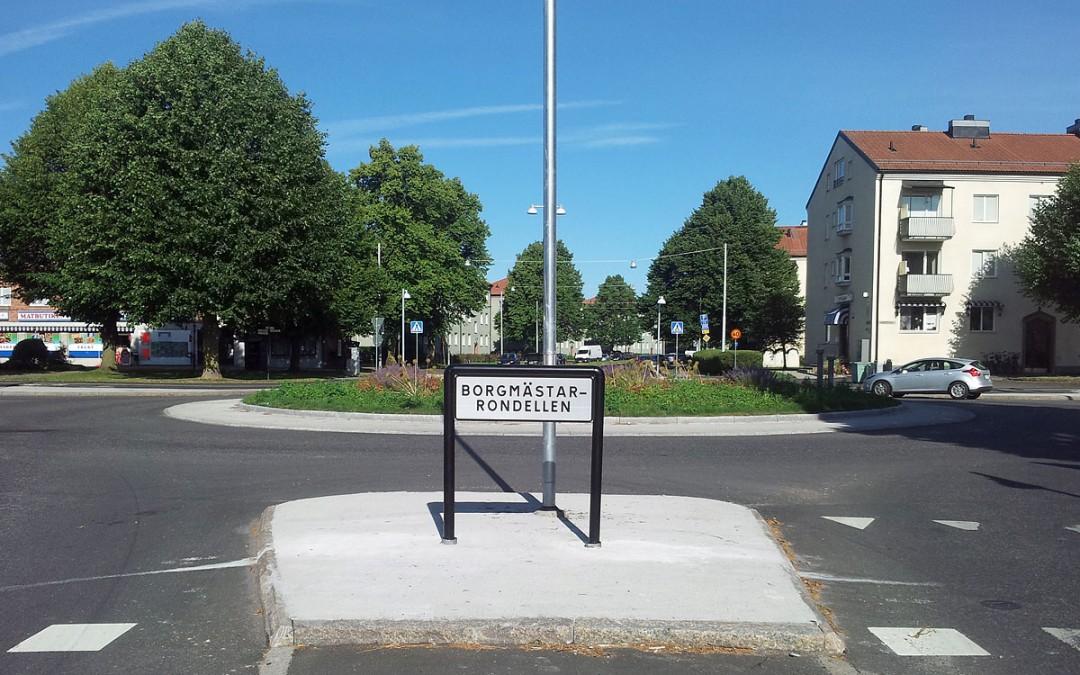 Nytt rondellnamn: Borgmästarrondellen