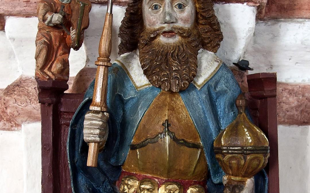 Stadens skyddshelgon Sankt Olof
