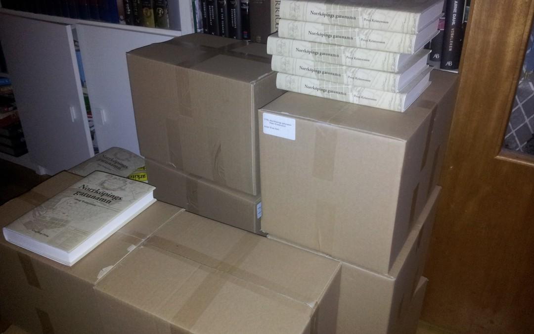 Böcker på väg