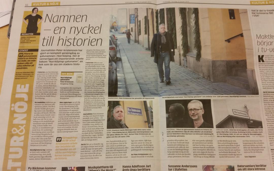 """Folkbladet: """"en skatt att ha i bokhyllan"""""""
