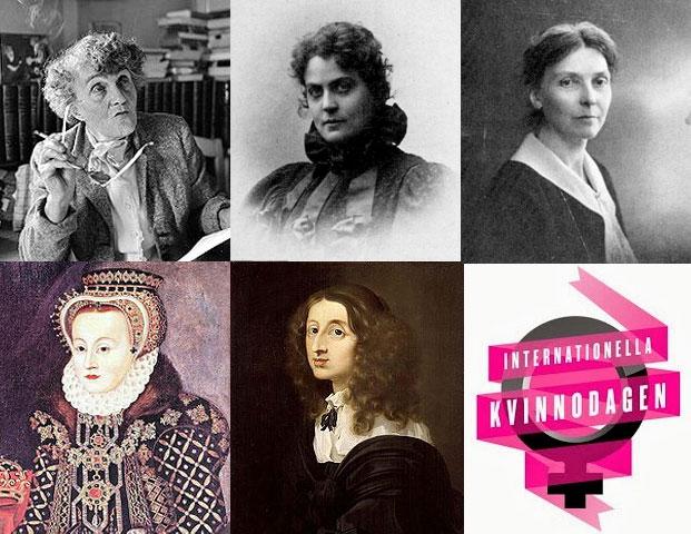 Bara sju kvinnor har givit namn åt gator