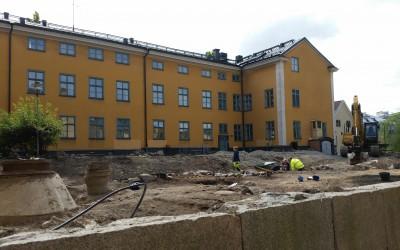Utgrävning i kvarteret Gamla Rådstugan