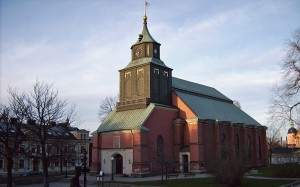 Hedvigs kyrka. Foto: Harri Blomberg (Wikipedia CC-BY-SA-3.0-migrated)