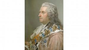 Carl Gustaf Tessin. Pastellporträtt målat av Gustaf Lundberg 1761.