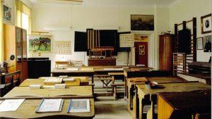 Norrköpings skolmuseums 1800-talsrum. Foto: Norrköpings skolmuseum