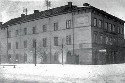 Eklundska teatern. Foto ur Norrköpings stadsarkivs samlingar