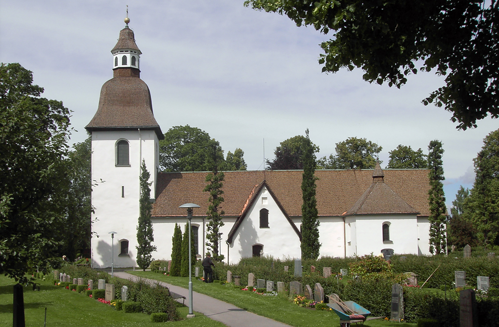 Östra Eneby kyrka. Foto: Thuresson (Wikimedia Commons CC-BY-2.0)