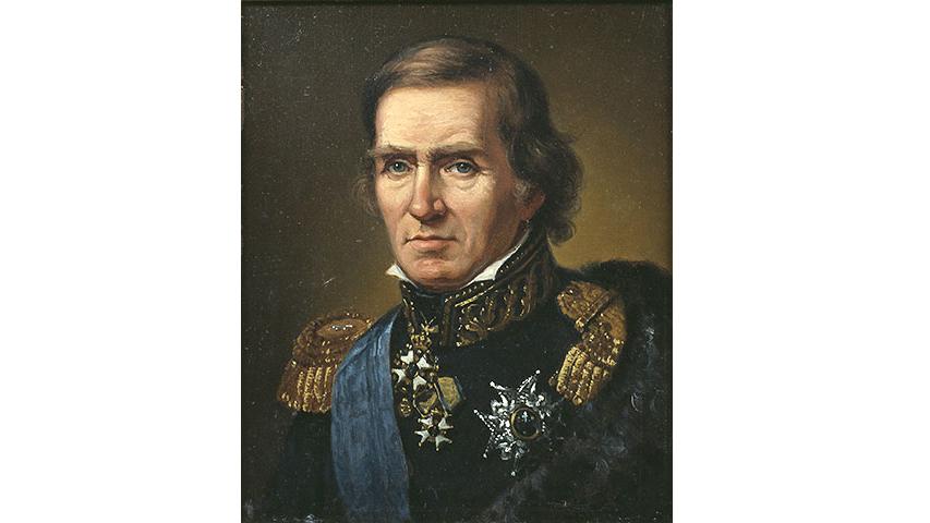 Baltzar von Platens porträtt, målat av Johan Gustaf Sandberg