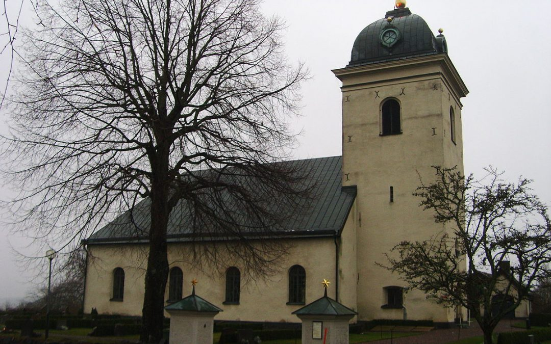 Dagsbergs kyrka. Foto: Västgöten (Wikimedia Commons CC 3.0]