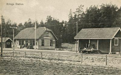 Klinga stationsväg