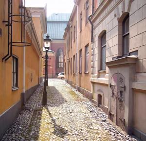 Tre Prinsars gränd. Foto: Västgöten (Wikimedia CC-BY-SA-3.0)
