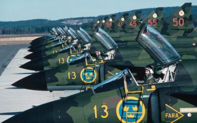 När Bråvalla flygflottilj försvarade Norrköping