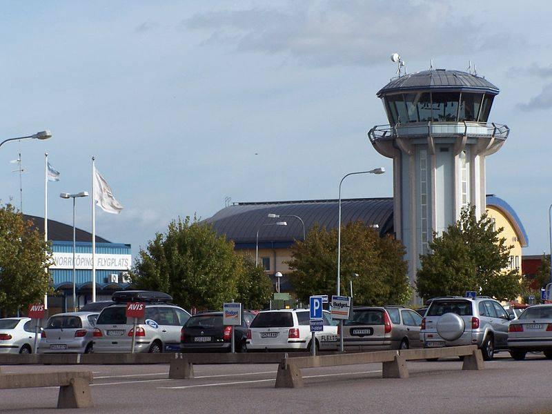 Norrköpings flygplats. Foto: Henrik Sendelbach