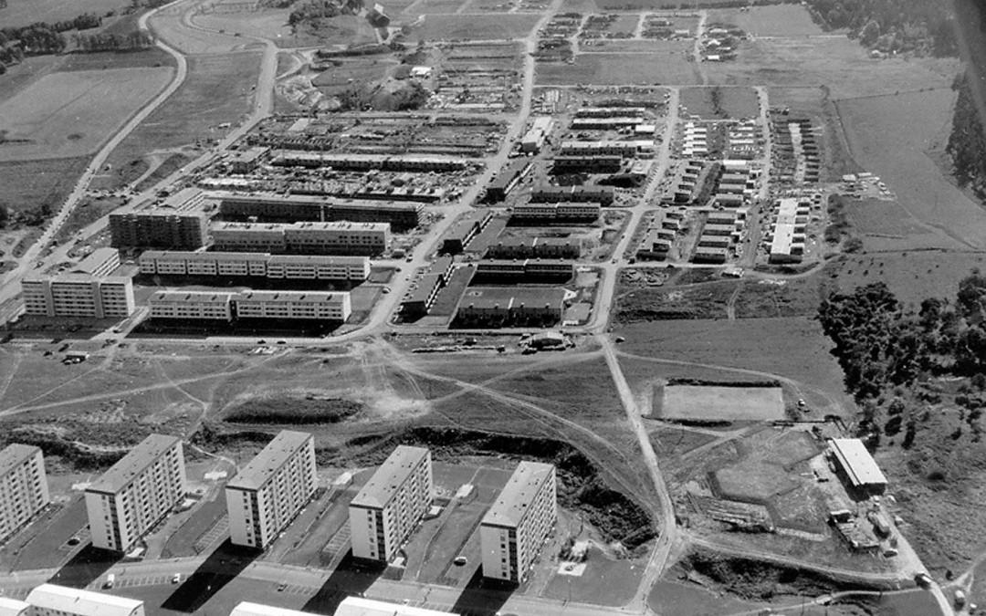 Hageby 1961. Foto: Ingvar Anehed