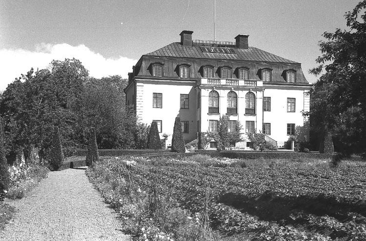 Krusenhofs herrgård. Foto: Werngrens ateljé. Ur Norrköpings stadsmuseums samlingar
