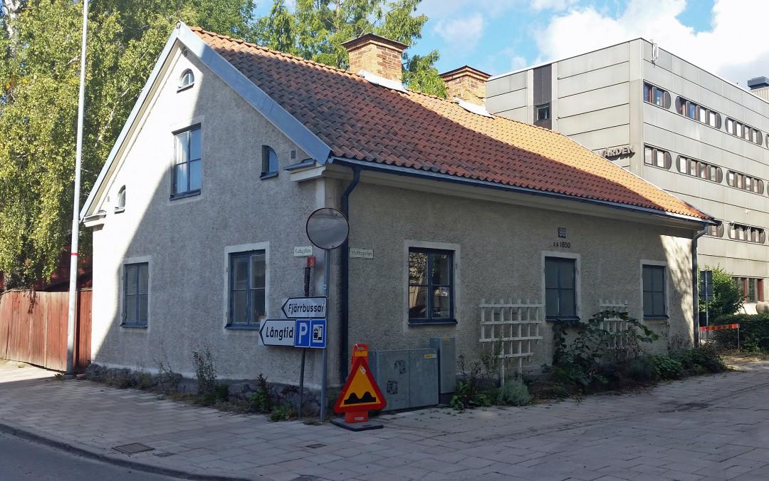 Hyrkuskens hus år 2015. Foto: Peter Kristensson/Klingsbergs Förlag
