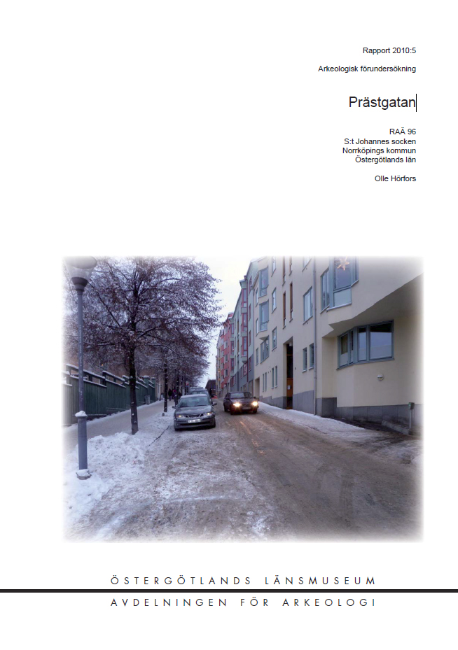 Prästgatan rapport
