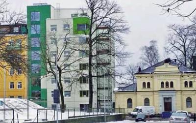 Terrasseringar och odling i stadens utkant