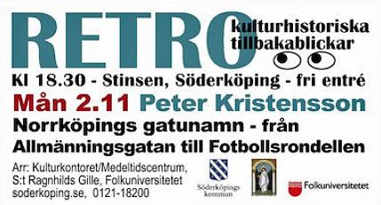 Föredrag i Söderköping