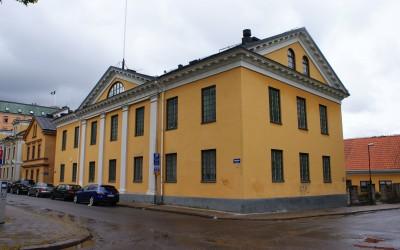 Sjukhusbyggnaderna i kvarteret Varvet