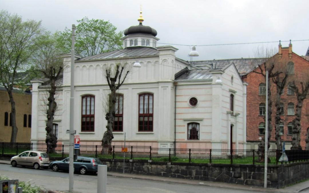 Norrköpings synagoga. Foto: Ragnar Öberg (Wikimedia CC-BY-SA-3.0)