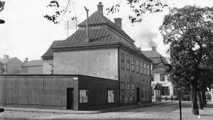 Gamla rådhuset med fasaden ut mot Nya Rådstugugatan