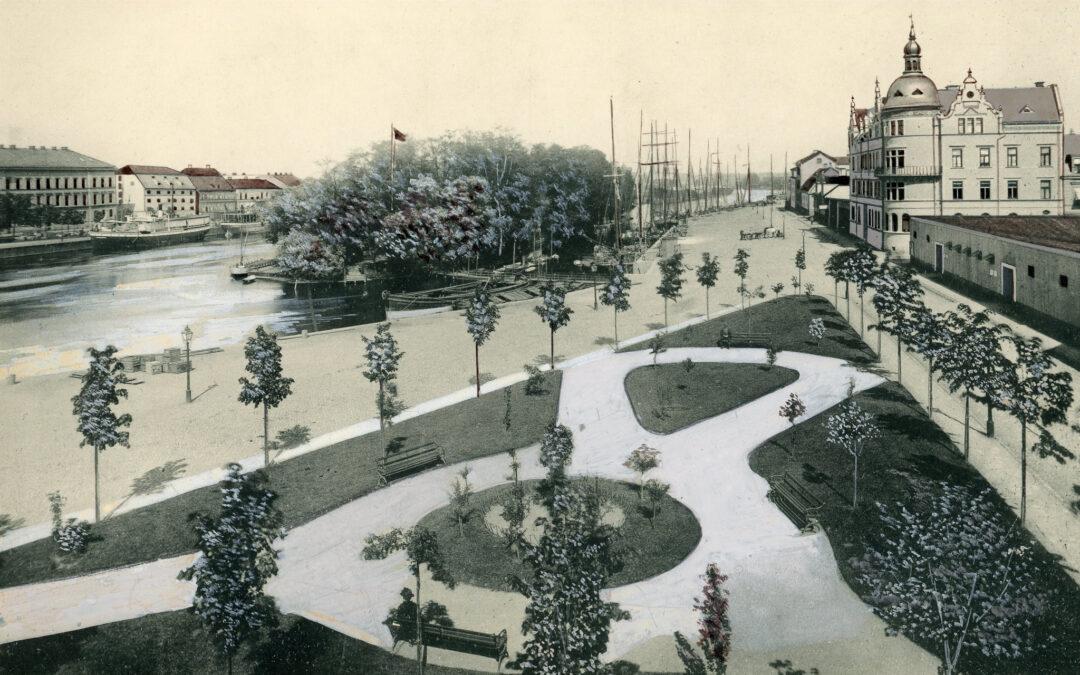 Kalvhagen omkring 1890. Foto: Carl Nilsson. Ur Norrköpings stadsarkivs samlingar