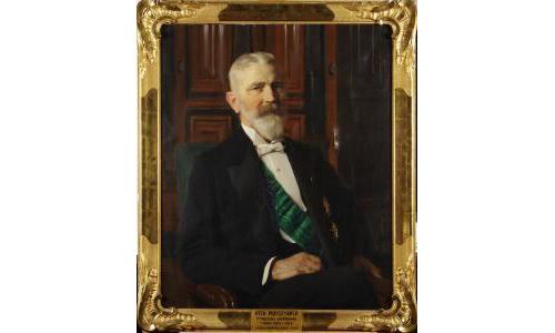 Otto Printzsköld. Målning av Emil Österman