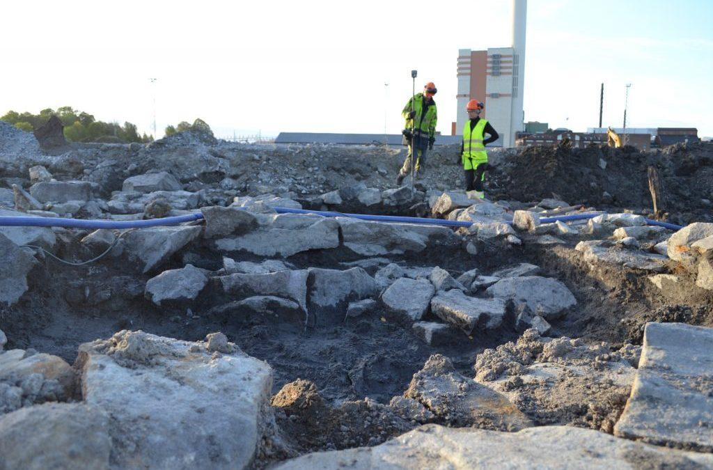 Foto: Lotta Stenqvist/Arkeologerna.