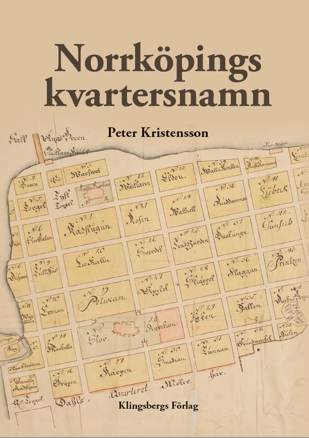 Norrköpings kvartersnamn - omslaget