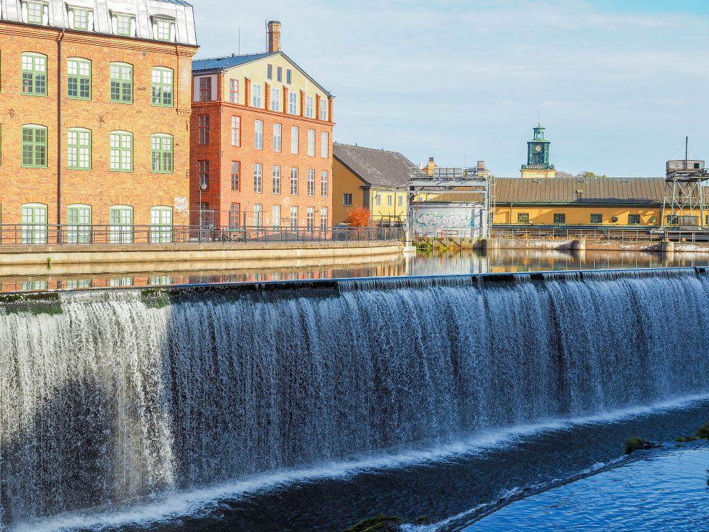 Vattenfall i Industrilandskapet  (CC BY 2.0) av chas679