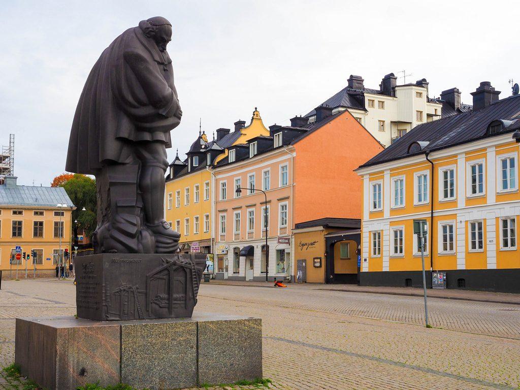 Statyn av Louis De Geer (CC BY 2.0) av chas679.