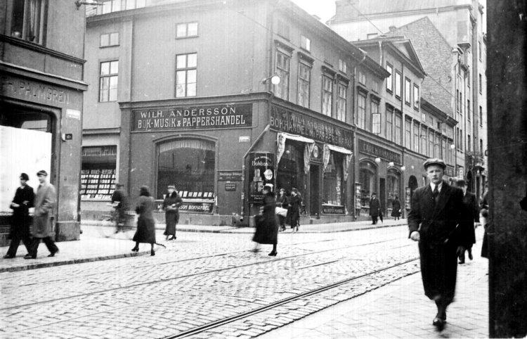 Anderssons bokhandel i Kv Pelikan