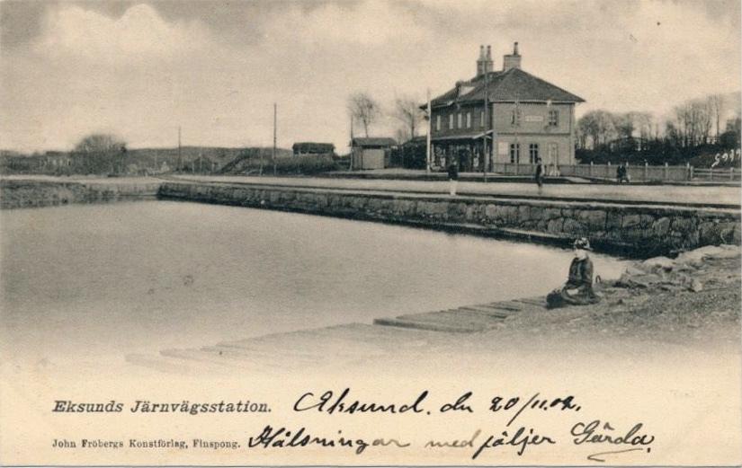 Eksunds järnvägsstation