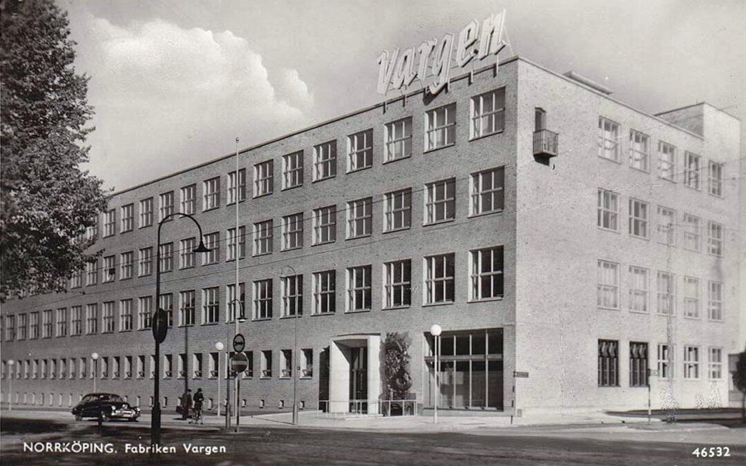 Fabriken Vargen vid Östra Promenaden i kvarteret Motorn. Vykort