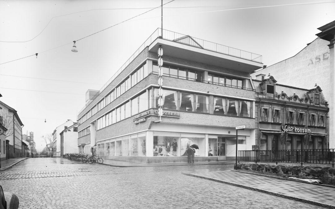 Konsums varuhus i Kvarteret Johannes.Foto: Sune Sundahl. Ur Arkitektur- och designcentrums samlingar