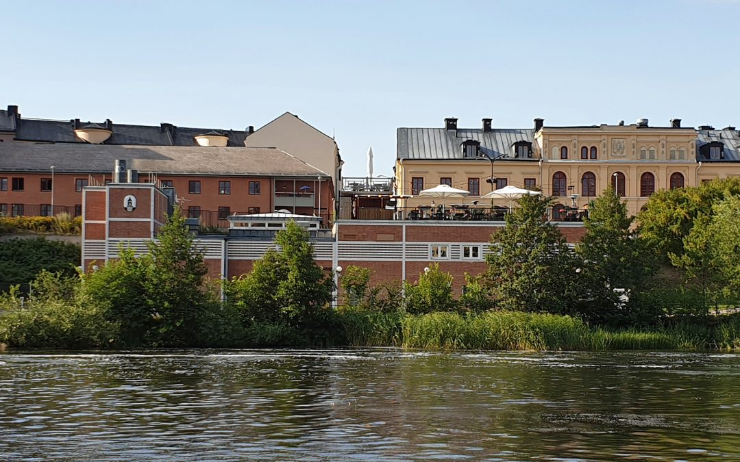 Kraftverket Holmen. Foto: Peter Kristensson/Klingsbergs Förlag