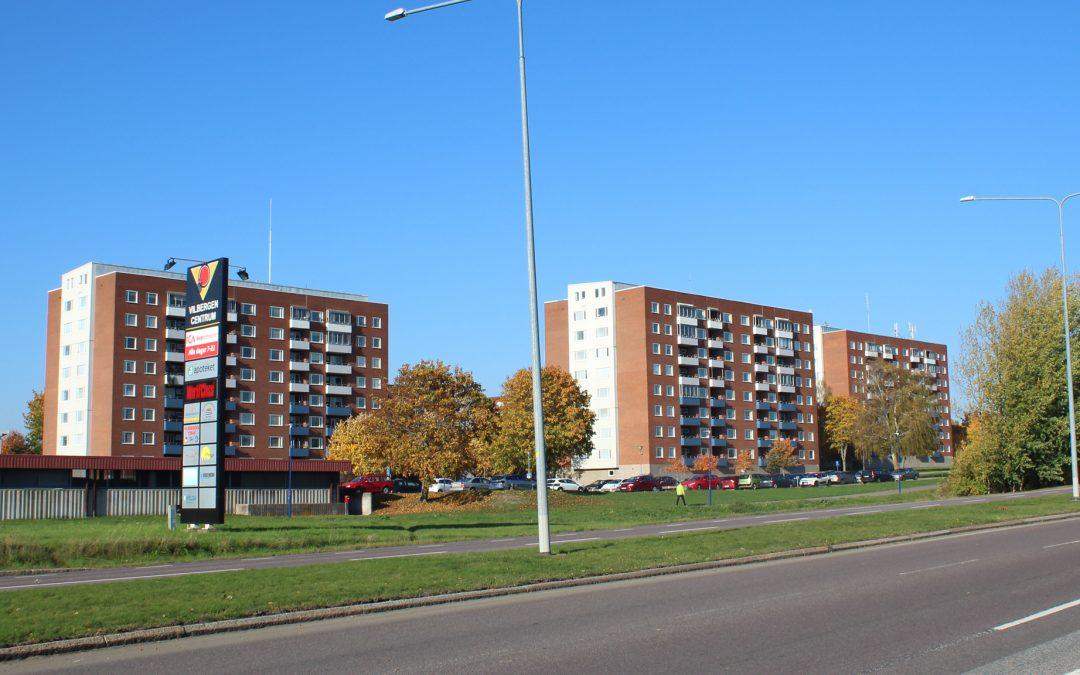 Kvarteret Safiren i Vilbergen. Foto: Peter Kristensson/Klingsbergs Förlag