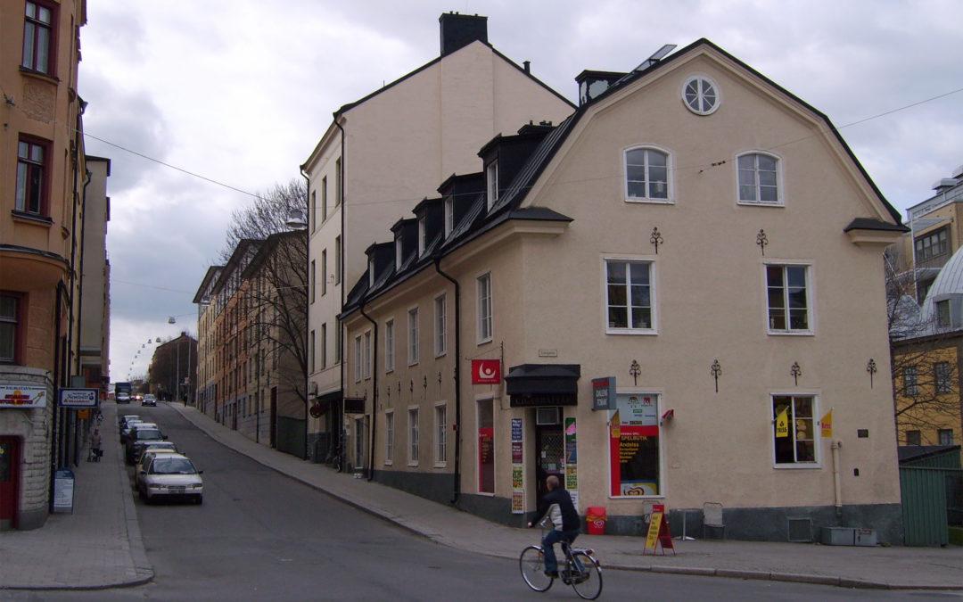 S:t Persgatan 75 i kvarteret Dalkarlen år 2007. Foto: Harri Blomberg/Wikimedia Commons CC-BY-SA-3.0-migrated