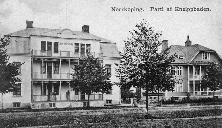Borgsgatan 8 i kvarteret Noshörningen. Ur Norrköpings stadsarkivs samlingar