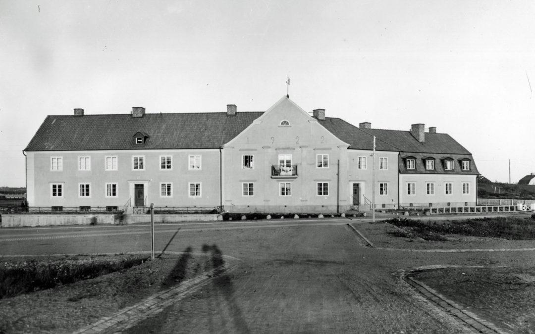 Kvarteret Vimpeln år 1922. Foto: Gustaf Lidberg. Ur Norrköpings stadsarkivs samlingar
