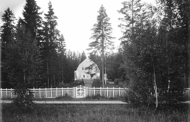 Pamusvägen 69 i kvarteret Galären. Ur fotosamlingen Gamla Swartzens minnen, Norrköpings stadsarkiv