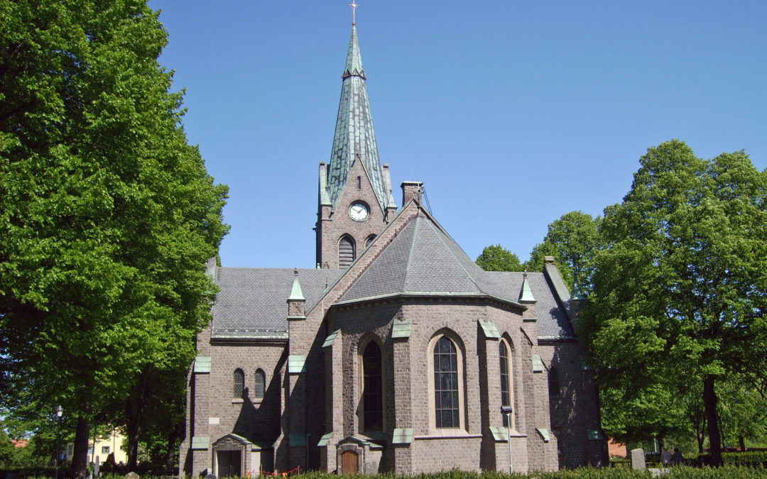 S:t Johannes kyrka. Harri Blomberg (Wikimedia Commons CC BY-SA 3.0)