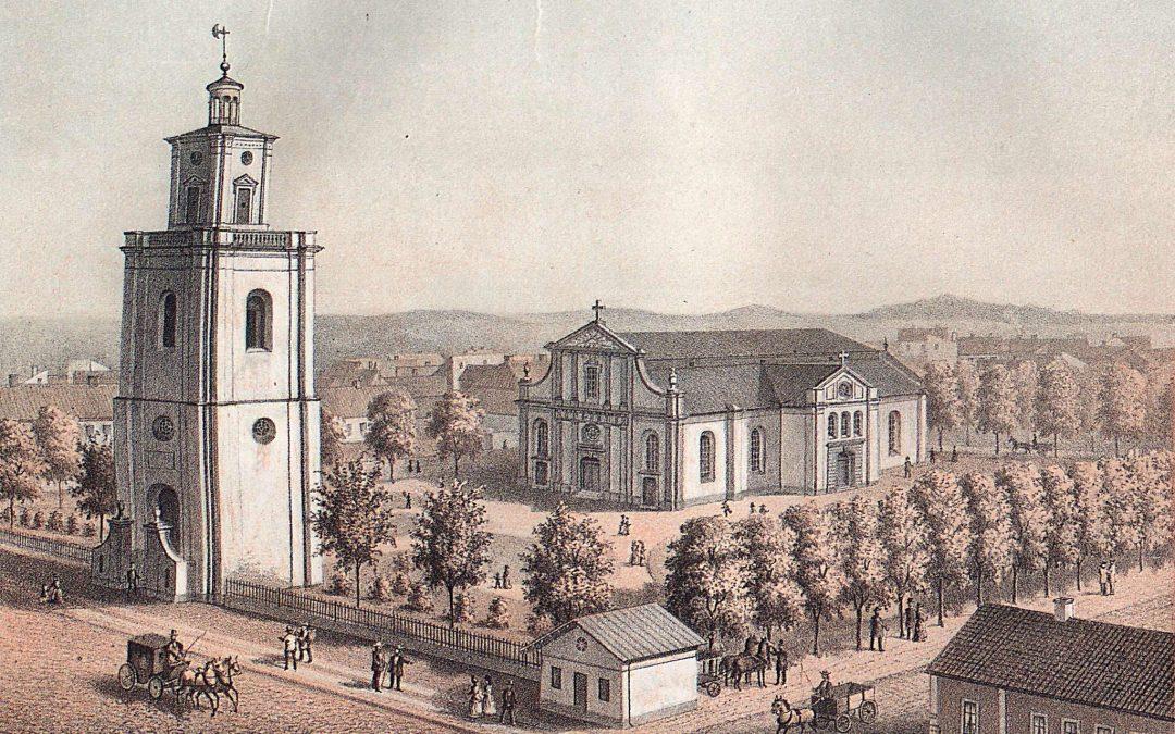 S:t Olai kyrka i boken Märkligare svenska kyrkor, 1874
