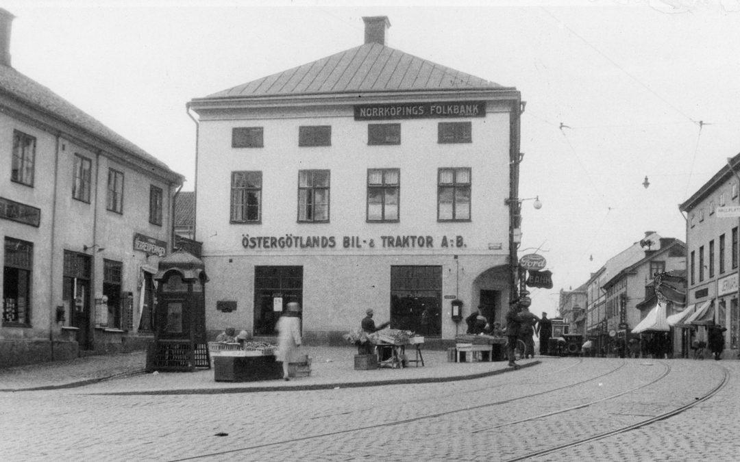Kvarteret Spetsen. Okänd fotograf. Ur Norrköpings stadsarkivs samlingar