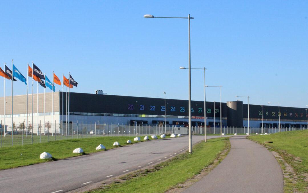Stadiums centrallager i kvarteret Vätet år 2018. Foto: Peter Kristensson/Klingsbergs Förlag