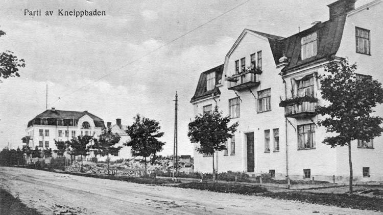 Villa Alfsol vid Odensgatan i kvarteret Kråkan. Ur fotosamlingen Gamle Swartzens minne i Norrköpings stadsarkiv