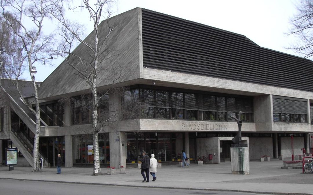 Norrköpings stadsbibliotek. Foto: Thuresson (Wikimedia Commons CC-BY-2.0)