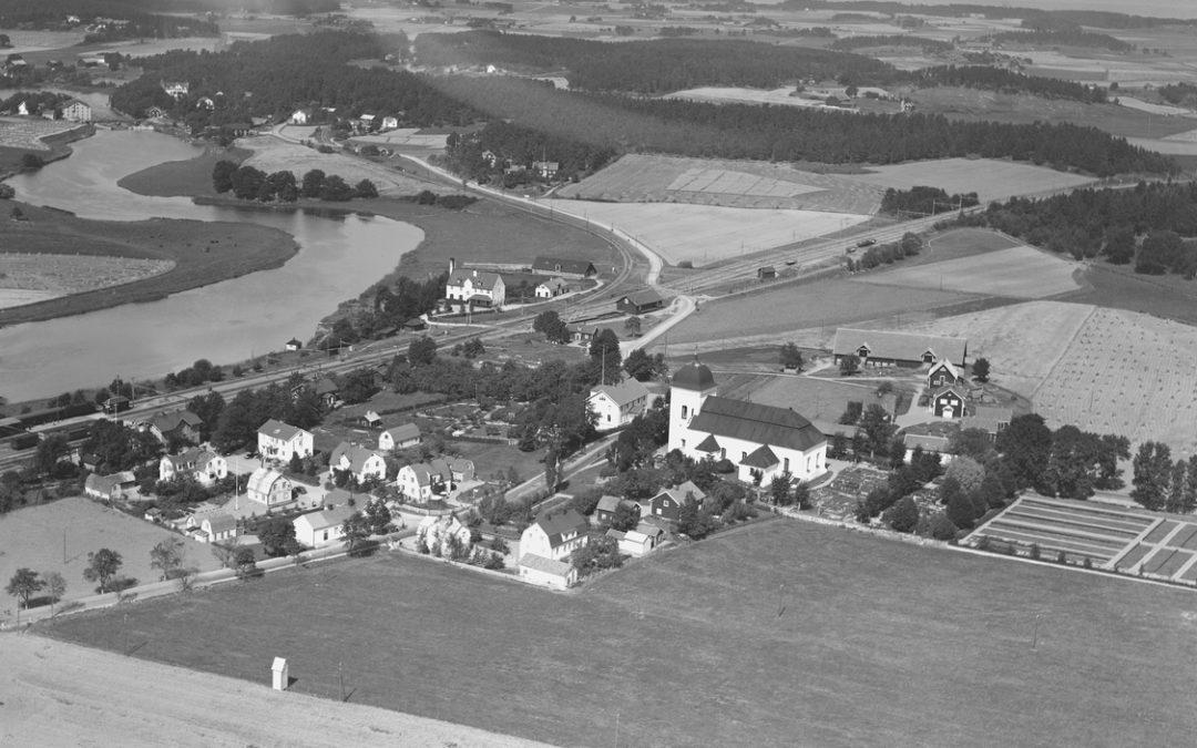 KImstad år 1936. Foto: Ahrenbergsflyg. Ur Östergötlands museums samlingar